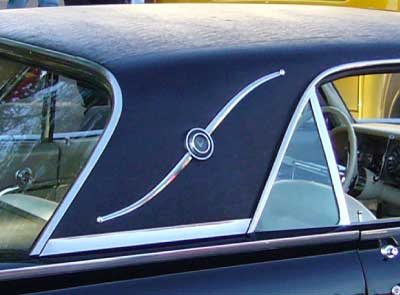 1962-63 thunderbird landau bar bird nest thunderbirds