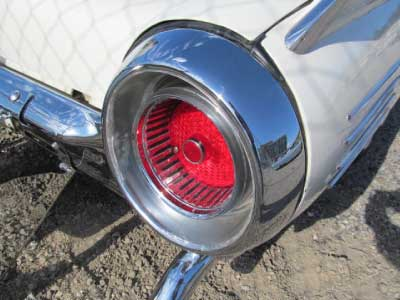 1961 thunderbird tail light bird nest thunderbirds