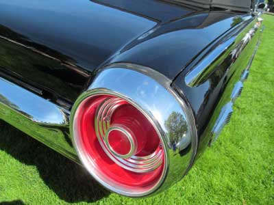 1962 thunderbird tail light bird nest thunderbirds