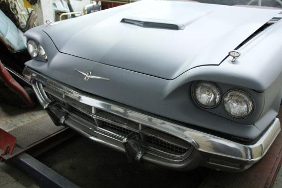 1960 thunderbird convertible hood bird nest thunderbirds