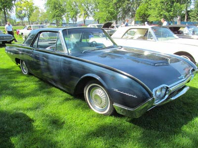 1962 black hardtop thunderbird bird nest thunderbirds