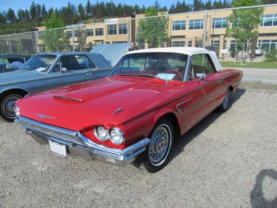 1965 red convertible identify your thunderbird bird nest thunderbirds