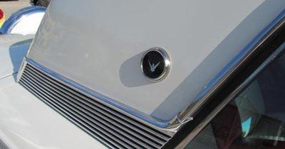 1958 thunderbird hardtop emblem bird nest thunderbirds