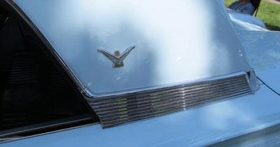 1959 thunderbird hardtop bird emblem bird nest thunderbirds