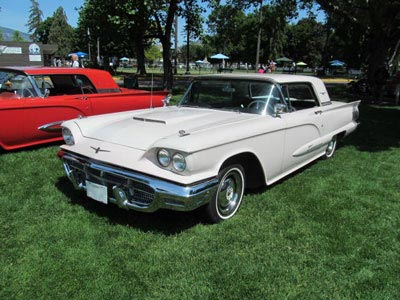 1960 white hardtop identify your thunderbird bird nest thunderbirds