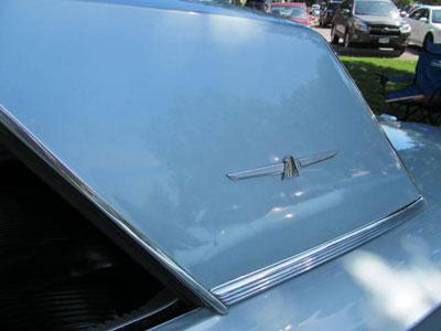 1964 roof bird bird nest thunderbird